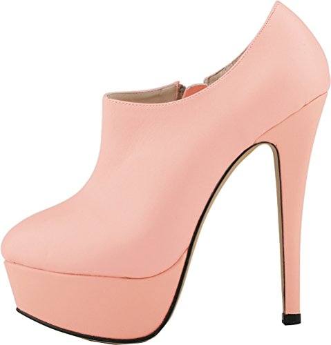 817 Prom Ufficio Platform Shallow Pink A Prevalent Pump Thick Cfp Stiletto Lavoro Shoes Cosy Womens Mouth Smooth Tonda Dress Yse 3yg Punta Gentle Vintage Elegante Spotlight Party 7FnwBf5qZ