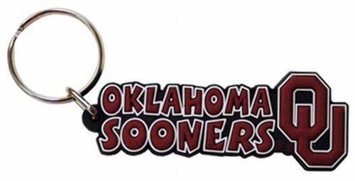 NCAA Oklahoma Sooners Festive PVC Keychain
