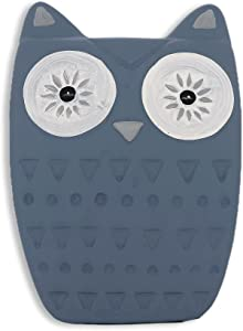 OSTKAKA Owl Christmas Ornament Small Statue for Home Office Decor,Table Decoration,Cute Owl Gift Animal Sculptures Collection for Birds Lovers (Blue)
