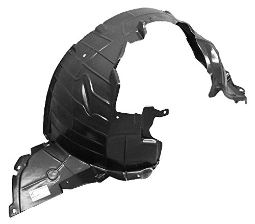 (IPCW FL-DS5001I2 Front Right Hand/Passenger Side OE Replacement Fender Liner)