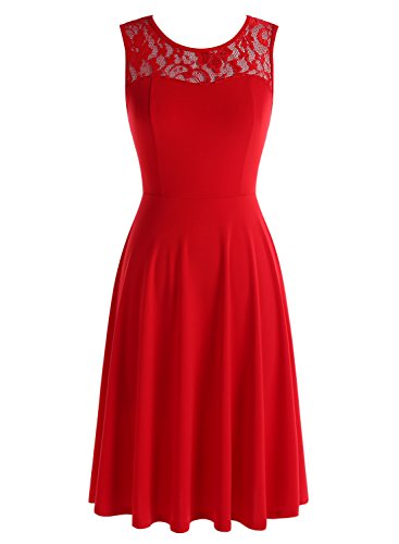 Buy below knee dresses - 8