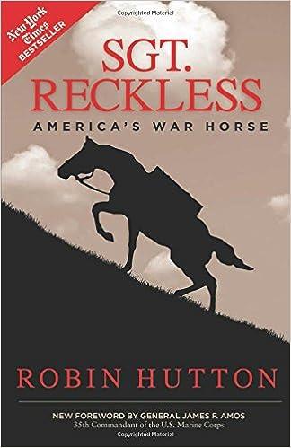 Image result for sgt. reckless book