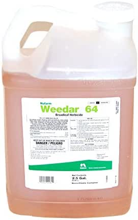 2;4-D Amine - Weedar 64 Herbicide - Active Dimethylamine salt of 2,4-D 46.8% - 2.5 gallons by Growers Solution