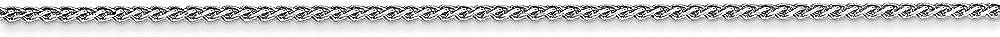 14K White Neckalce 1MM 18 INCH Long 14k White Gold 1mm Pendant Chain