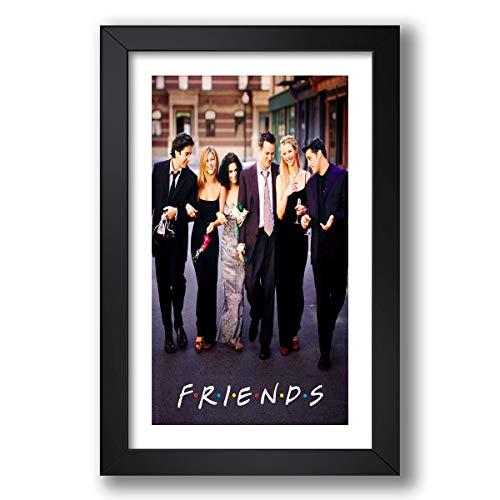Quadro Friends Serie Tv 60x40cm Filme Decorativo Sala Quarto Pronto para Pendurar