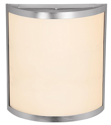 (Access Lighting 20439LED-BS/OPL Artemis LED Light Wall Brushed Steel Finish Sconce, Opal )