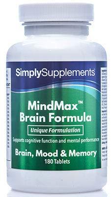 Vitaminas para la Memoria - Con Omega 3 y Ginkgo Biloba - Ayuda a mantener una