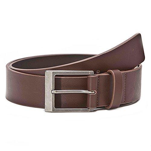 Alpinestars Belt - Alpinestars Mens Reinforce Leather Belt Large Brown