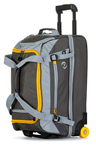 All of Us 21 inch Lightweight Wheeled Duffle Carry on Luggage ()