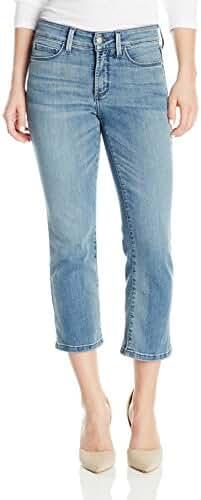NYDJ Women's Petite Billie Ankle Boot Jeans in Premium Lightweight Denim