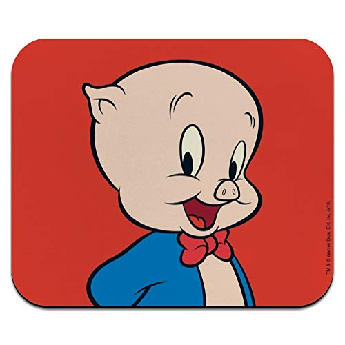 Looney Tunes Porky Pig Low Profile Thin Mouse Pad Mousepad