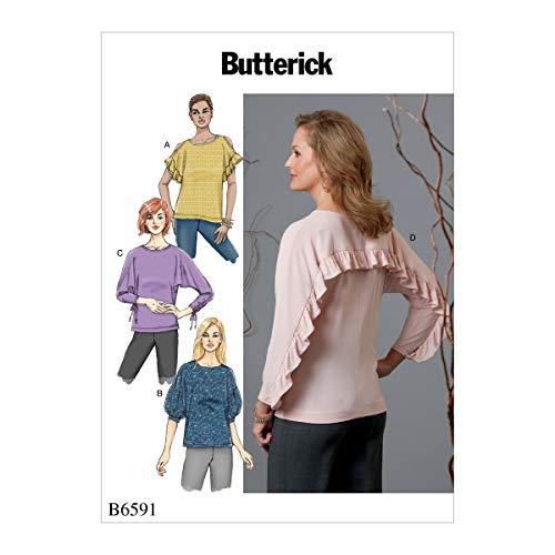 McCall's Patterns BUT 6591 TOP Butterick B6591