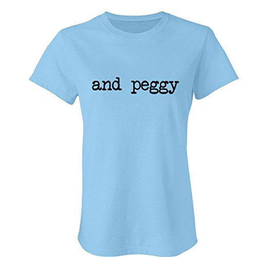 Hamilton and Peggy Shirt: Ladies Slim Fit Fine Jersey (Girls Fine Fit Tee)