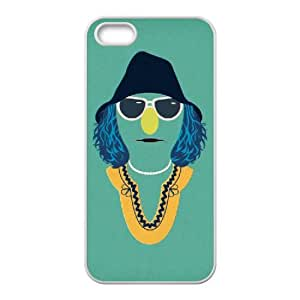 The Muppets Animal 002 funda iPhone 5 5S Cubierta blanca del teléfono celular de la cubierta del caso funda EVAXLKNBC14240