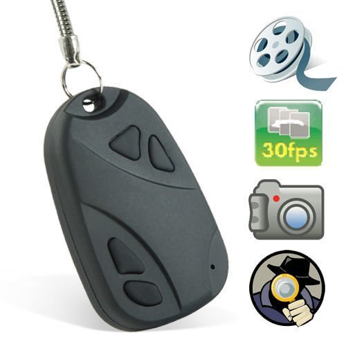 ugetde® Coche Llavero Cámara Espía Oculta estenopeica Digital Video Recorder & Mini cámara espía