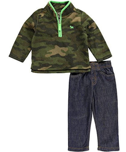 Carter's Baby Boys' 2 Piece Denim Pant Set (Baby) - Camo
