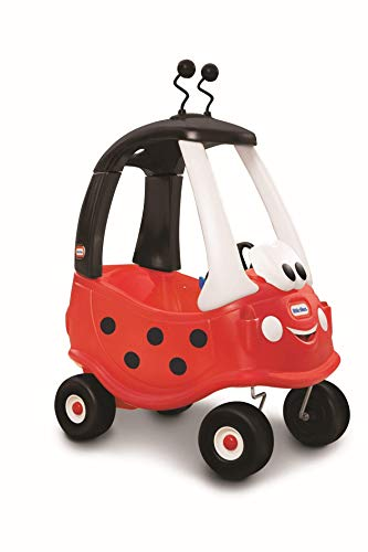 - Little Tikes Ladybug Cozy Coupe Ride-On Car
