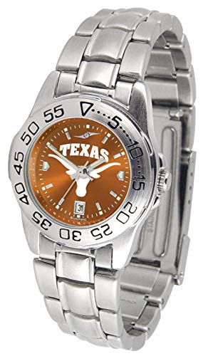 Texas Longhorns - Ladies' Sport Steel AnoChrome