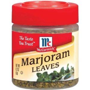 Specialty Herbs & Spices Marjoram Leaves - 6 Pack