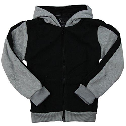Boys Hooded Full Fleece Jacket