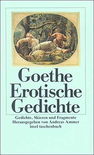Erotische Gedichte Gedichte Skizzen Und Fragmente Insel Taschenbuch Amazon De Ammer Andreas Goethe Johann Wolfgang Ammer Andreas Bucher