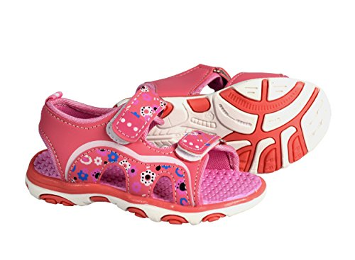 Peach Couture Kids Toddler Open Toe Beach Water Shoes Athletic Sports Sandals