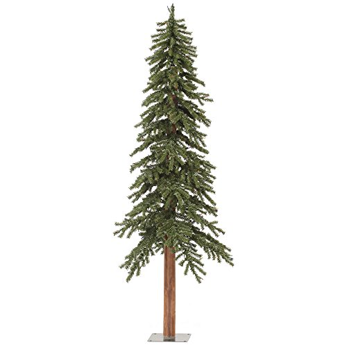 Vickerman 6' Unlit Natural Alpine Christmas Tree (Best Small Christmas Tree)