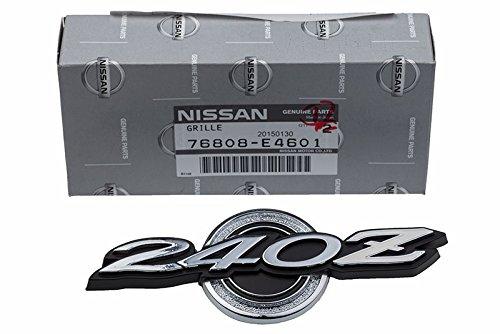 1970-1973 Nissan Datsun 240Z Right Left Roof Quarter Pillar Panel Emblem Logo
