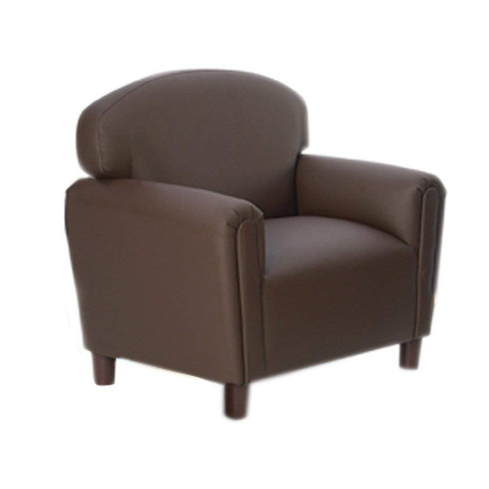 Brand New World Furniture FP2C200 Brand New World Preschool Enviro-Child Upholstery Chair, Chocolate