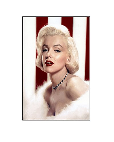 Beryllong Marilyn Monroe Poster Artwork Print Canvas Painting Wall Decor for Living Room, Bedroom, Hotel, Dining Room,Bar (Marilyn Monroe B, 40x60cm)