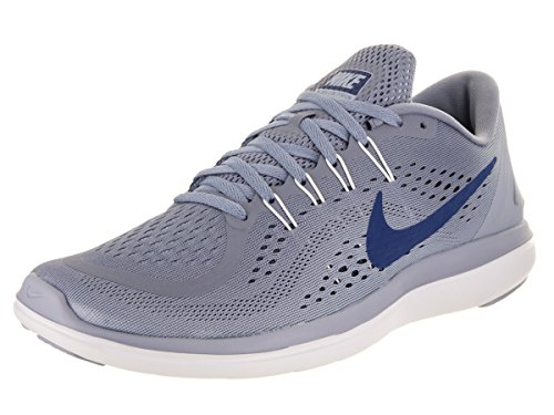 a727732e6c38a Galleon - Nike Men s Flex RN 2017 Running Shoe Dark Sky Blue Gym Blue Glacier  Grey Size 11.5 M US