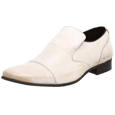 Ben Sherman Men's Brasco Slip On Loafer,Bianco Chi,7 M US
