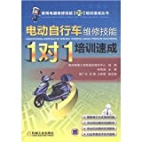 1-on-1 training crash: electric bicycle repair skills(Chinese Edition)