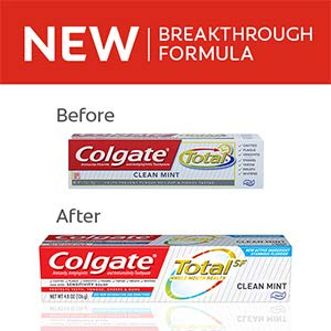 upc 035000740007 product image for Colgate Total Toothpaste, Anticavity Fluoride and Antigingivitis, Clean Mint Travel Size, TSA Aproved, 0.75 Oz (Pack of 6)