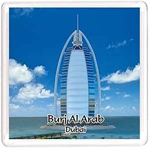 Ajooba Dubai Souvenir Magnet Burj Al Arab 0037