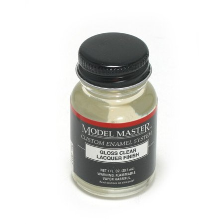 Testor Corp. Gloss Clear Model Master Lacquer 1oz Bottle ()