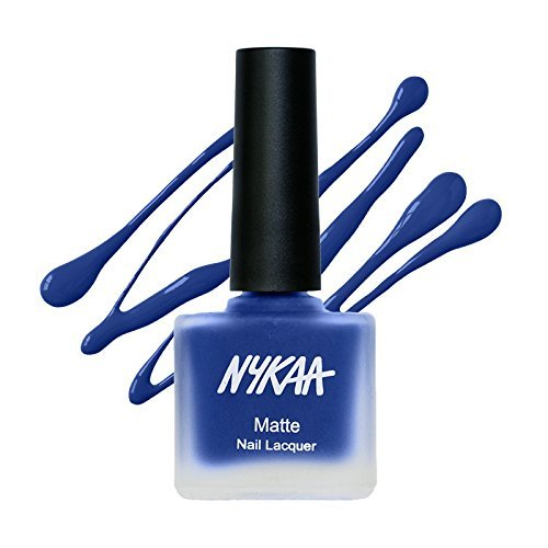 - Nykaa Matte Nail Enamel - Blueberry Compote (Shade No.119) (9 Ml)