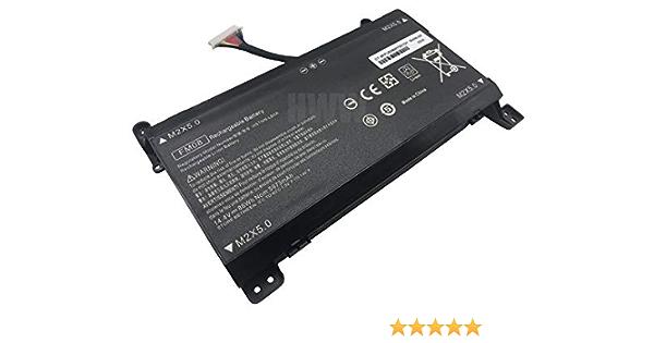 HWW 16 Cables 14.4V 86Wh 5973mAh FM08 Battery Compatible with HP Omen 17-AN013TX 17-AN014TX 17-AN014NG 17-an008ur HSTNN-LB8A HSTNN-LB8B 922753-421 922977-855 TPN-Q195 Series