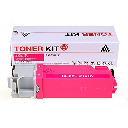 EZSpace 1320C Magenta Compatible Toner Cartridge Replacement for Dell Color Laser 1320C 1320 2130CN 2135Cn (1 ()