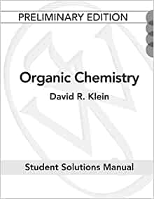 david klein organic chemistry solutions manual online