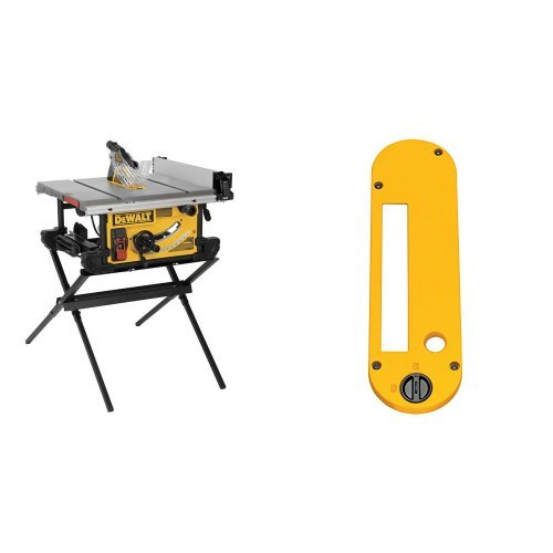 DeWalt DWE7490X 10-inch Job Site Table Saw and Stand