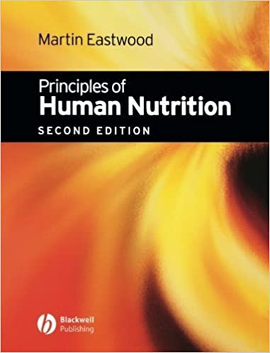Book Principles of Human Nutrition by Martin Eastwood (2003-06-02)