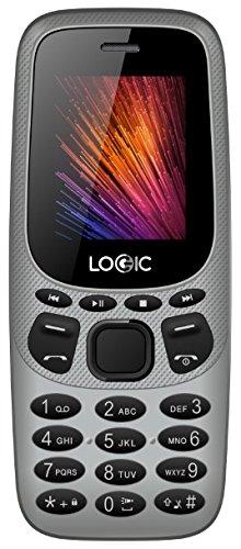 Cell phone 3G Bar Unlocked Dual Sim Logic B3G 2 in 1 Modem Bluetooth Mp3 Camera Flash Desbloqueado (Gray) by Logic