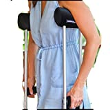 Comfy Crutches padded cushion and handgrips for crutches-Australia's #1 crutch cushion. Making crutches comfortable!