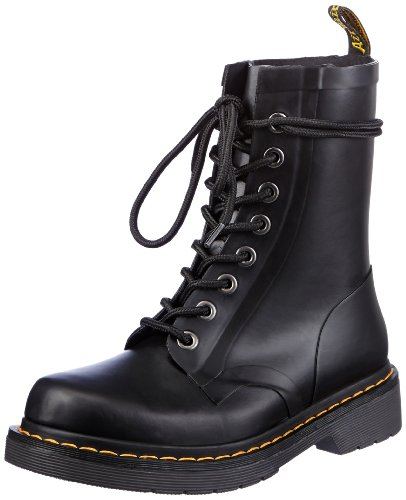 Dr. Martens Drench 8 Eye Boot Nero Opaco