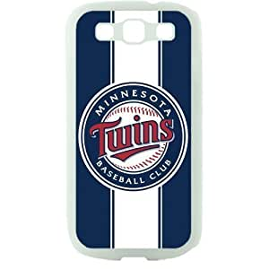 MLB Major League Baseball Minnesota Twins Samsung Galaxy S3 SIII I9300 TPU Soft Black or White case (White) by kobestar