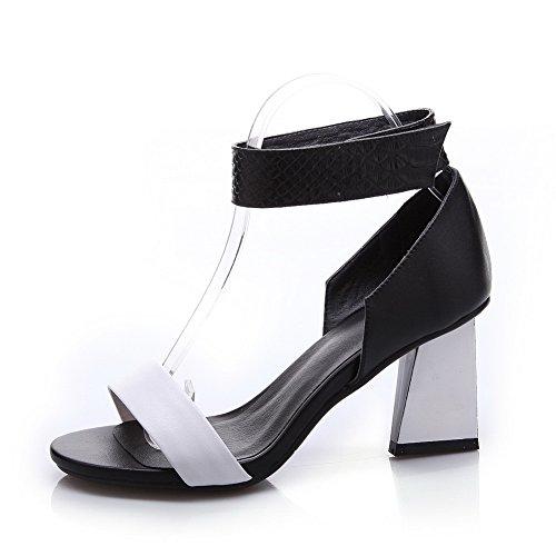 1TO9 Sandalias de Vestir Para Mujer, Color Negro, Talla 35