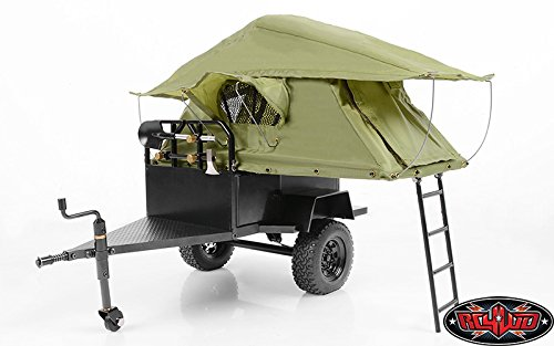 RC4WD Z-H0007 RC4WD Bivouac 1/10 M.O.A.B Camping Trailer with Tent
