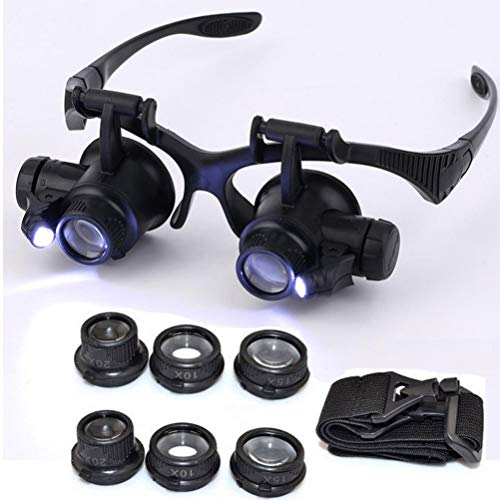 Led Light 20X Magnifier Loupe Lens in US - 7