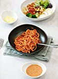 Wide and Shallow Porcelain Salad and Pasta Bowls